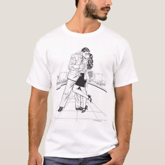スーパーマン白黒5 Tシャツ