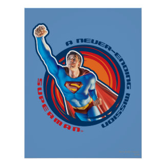 スーパーマン終ることがない代表団 プリント
