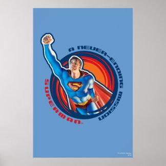 スーパーマン終ることがない代表団 ポスター