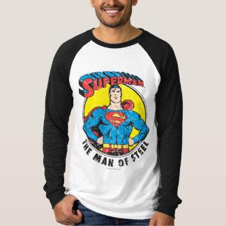 スーパーマン鋼鉄の人 Tシャツ