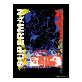 スーパーマン43 ポストカード