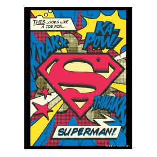 スーパーマン66 ポストカード