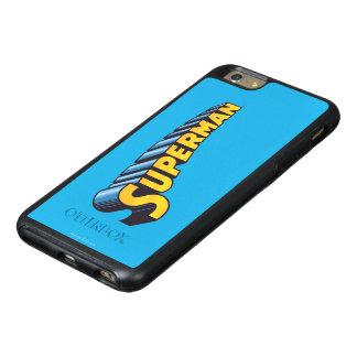 スーパーマン|のクラシックな一流のロゴ オッターボックスiPhone 6/6S PLUSケース