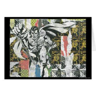 スーパーマン-コラージュは上がります カード