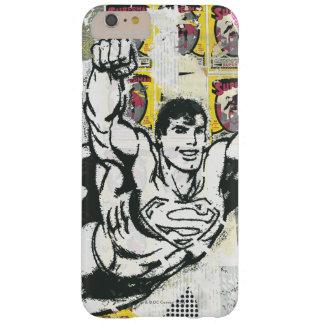 スーパーマン-コラージュ2は上がります BARELY THERE iPhone 6 PLUS ケース