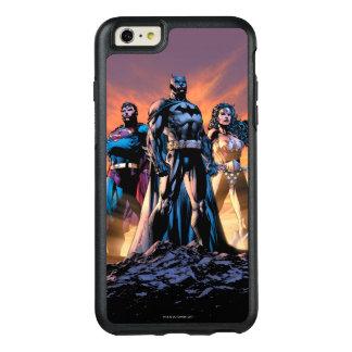 スーパーマン、バットマン、及びワンダーウーマンの三位一体 オッターボックスiPhone 6/6S PLUSケース