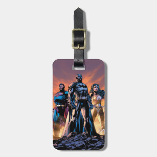 スーパーマン、バットマン、及びワンダーウーマンの三位一体 ラゲッジタグ