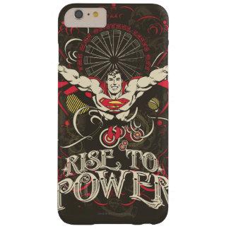 スーパーマン-ポスターに動力を与える上昇 スリム iPhone 6 PLUS ケース
