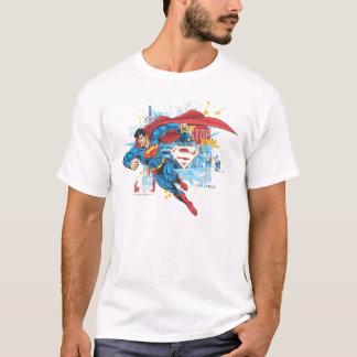 スーパーマン-停止悪 Tシャツ