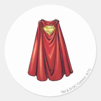 スーパーマン-岬 ラウンドシール