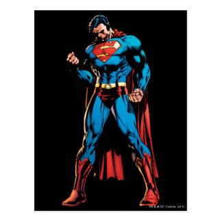スーパーマン-握りこぶしの手 ポストカード