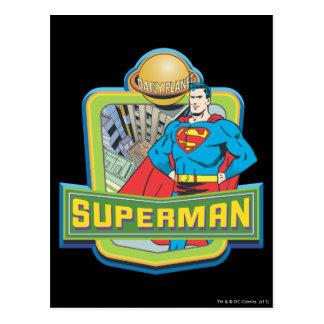 スーパーマン-毎日の惑星 ポストカード