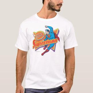 スーパーマン-鋼鉄の人 Tシャツ