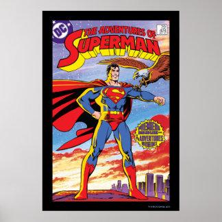 スーパーマン#424の冒険 ポスター