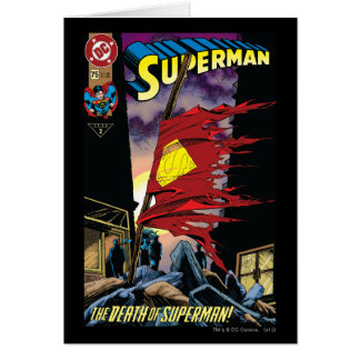 スーパーマン#75 1993年 カード
