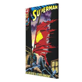 スーパーマン#75 1993年 キャンバスプリント
