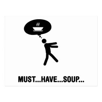 スープ恋人 ポストカード