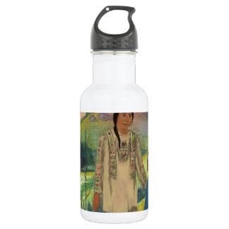 スー族の責任者および息子 ウォーターボトル