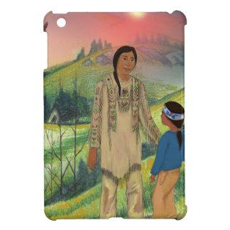 スー族の責任者および息子 iPad MINI カバー