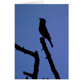 ズアオアトリの歌うカード カード