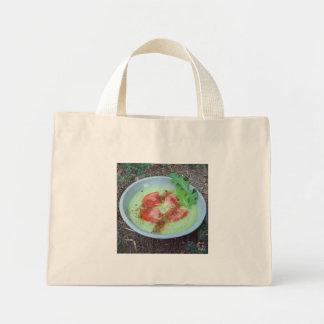ズッキーニのアボカドスープ ミニトートバッグ