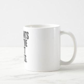 ズボン無し コーヒーマグカップ