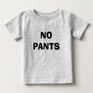 ズボン無し ベビーTシャツ