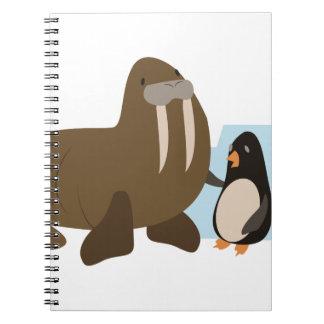 セイウチ及びペンギン ノートブック