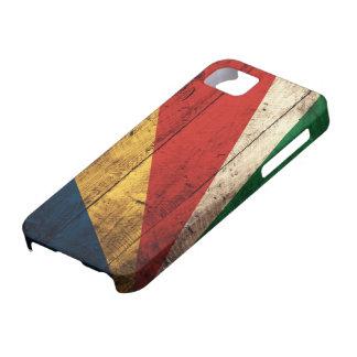 セイシェルの古い木の旗 iPhone SE/5/5s ケース