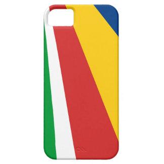 セイシェルの国旗の国家の記号の名前の文字 iPhone SE/5/5s ケース