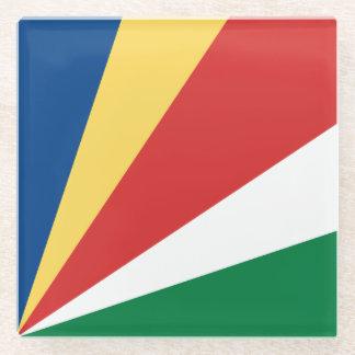 セイシェルの旗 ガラスコースター