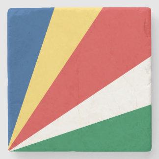 セイシェルの旗 ストーンコースター