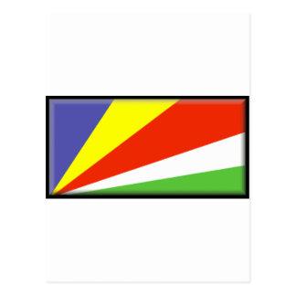 セイシェルの旗 ポストカード