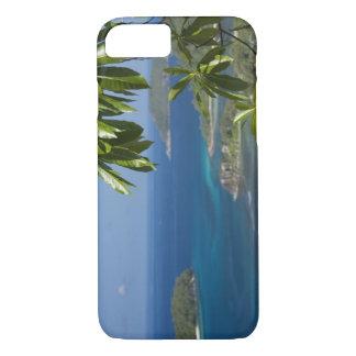 セイシェルのMaheの島。 西部の海岸の iPhone 8/7ケース