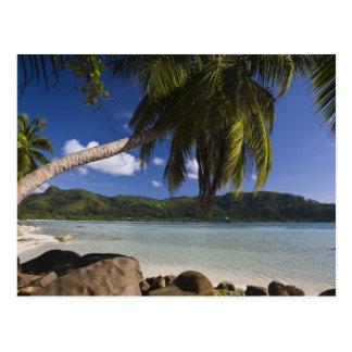 セイシェルのMaheの島、Anse la Mouche ポストカード