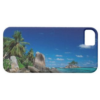 セイシェルのMaheの島、Anse Royale浜 iPhone SE/5/5s ケース