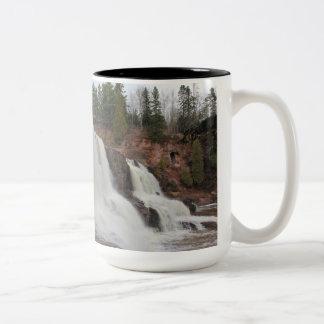セイヨウスグリの滝のコーヒー ツートーンマグカップ