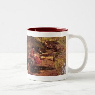 セオドア温厚なSteele著川によるデイジー ツートーンマグカップ