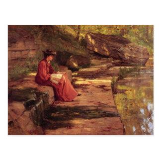 セオドア温厚なSteele著川によるデイジー ポストカード