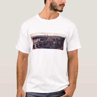 セオドア著Granvilleの港の突堤… Tシャツ