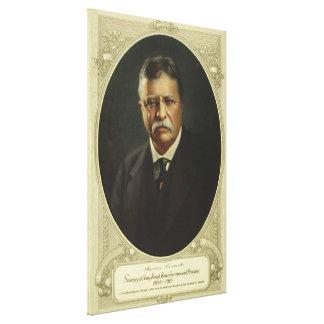 セオドア(テディ)ルーズベルト大統領 キャンバスプリント