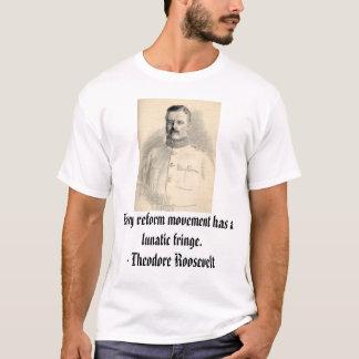 セオドア・ルーズベルトに、あらゆる革新運動…あります Tシャツ