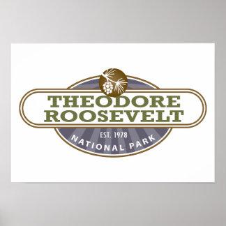 セオドア・ルーズベルトの国立公園 ポスター