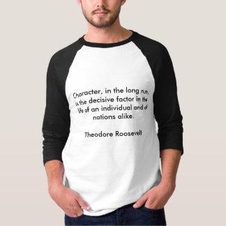 セオドア・ルーズベルトの引用文10 Tシャツ