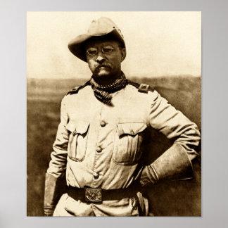 セオドア・ルーズベルト大佐 ポスター