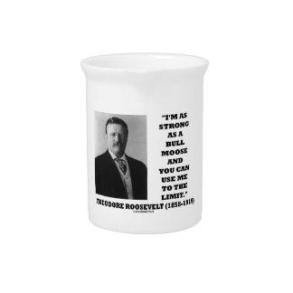 セオドア・ルーズベルト私はBullのアメリカヘラジカ強いです ピッチャー