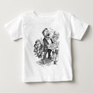 セオドア・ルーズベルト1912の政治漫画 ベビーTシャツ
