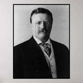 セオドア・ルーズベルトPortait大統領 ポスター