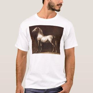 セオドアGericault著まだらにの灰色の勉強 Tシャツ