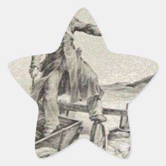 セオドアGericault著ミサイル発射機のケーソン 星シール